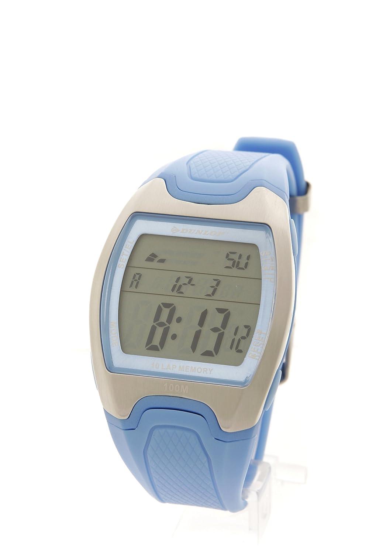Dunlop Reloj Digital para Hombre de Cuarzo con Correa en Caucho 0914BG0003-18: Amazon.es: Relojes