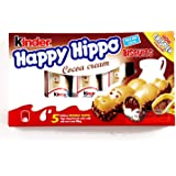 Kinder Happy Hippo Cocoa Biscuits 3.62 oz each (2 Items Per Order)