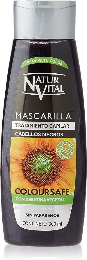 Naturaleza Y Vida Mascarilla Coloursafe Negro - 300 ml
