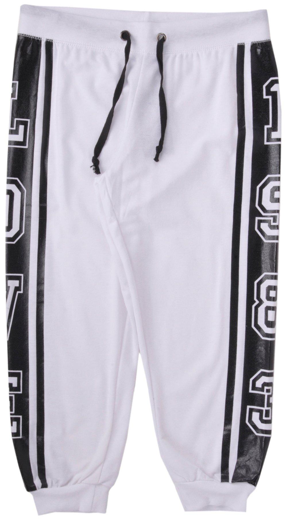 Coco Limon 1983 Love Womens Capri Pants in White