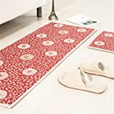 MR FANTASY Non Slip Floor Kitchen Mat Area Rug