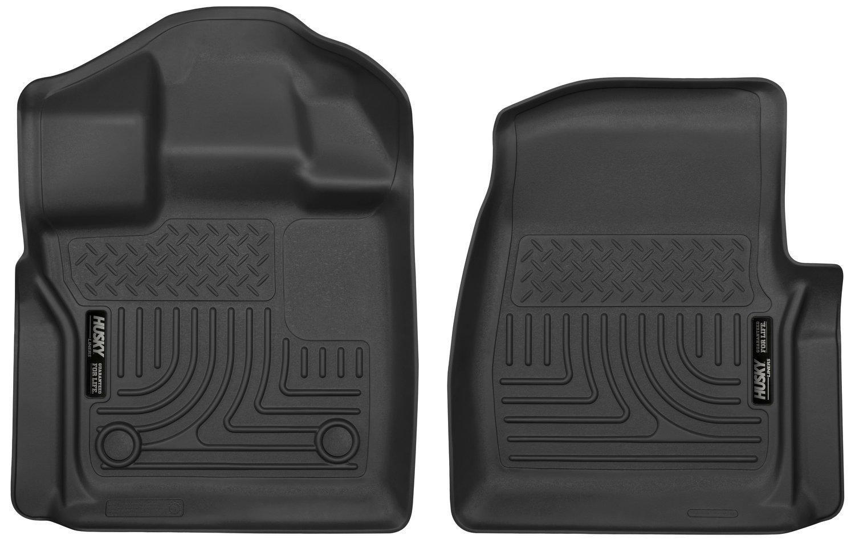 Black Husky Liners Front Custom Mud Guards 58451