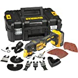 DeWalt DCS355M1-GB DCS355M1 Oscillating Multi-Tool 18V li-ion Cordless Brushless (1 x 4Ah Batteries) with 35 Accessories, 18 V