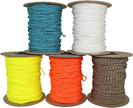 1.8 mm or 2.2 mm SGT KNOTS Spectra Cord More Survival All-Purpose Utility Cord Speargun Line Gear Bundles Fishing Line for Tie-Downs 100 ft - 300 ft Boot Laces Camping