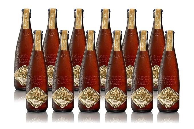 Casimiro Mahou Cerveza de Trigo - Caja de 12 Botellas x 375 ml - Total: 4,5 L