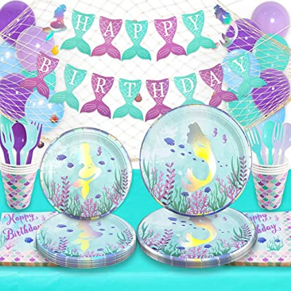 Silver Anniversary Decorations Banner Balloons Tablecover Cups Napkins Plates