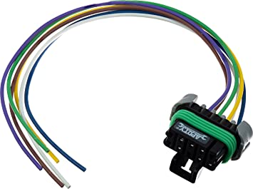 Amazon.com: APDTY 141821 6-Wire Wiring Harness Pigtail Throttle Control  Module Pedal Side: AutomotiveAmazon.com