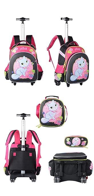 Amazon.com | Kids Rolling Backpacks Trolley School Bag Wheeled Waterproof Removable luggage | Kids Backpacks