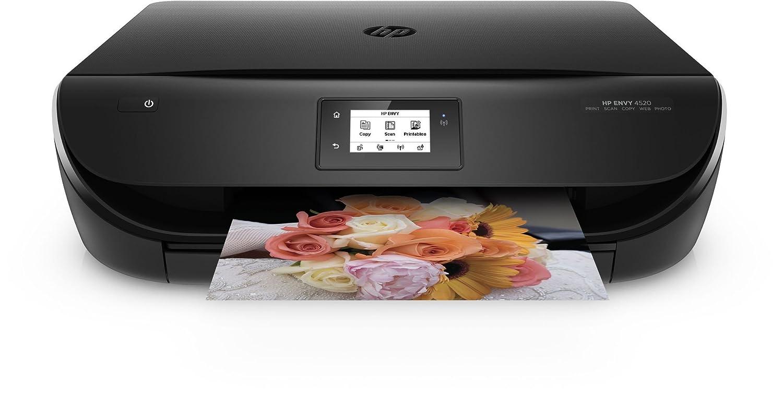 HP Envy 4520 - Impresora multifunción inalámbrica (inyección térmica de tinta, WiFi, compatible con el servicio Instan Ink, B/N 9.5...