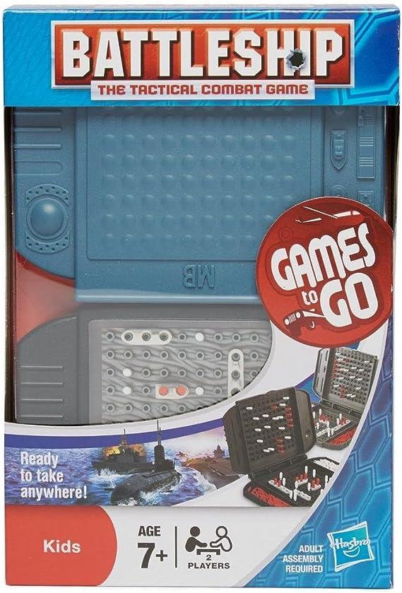 Hasbro Gaming - Hundir la Flota, Juego de Viaje (versión en inglés): Amazon.es: Juguetes y juegos