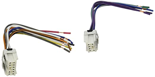 amazon com scosche reverse wiring harness for 1995 up nissan car scosche reverse wiring harness for 1995 up nissan car stereo connector