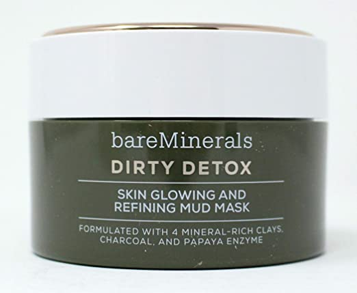 Dirty Detox Skin Glowing and Refining Mud Mask, 2.04 oz