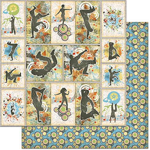 Teenagers Double-Sided Cardstock 12''X12''-Street Dancing by Feature Art