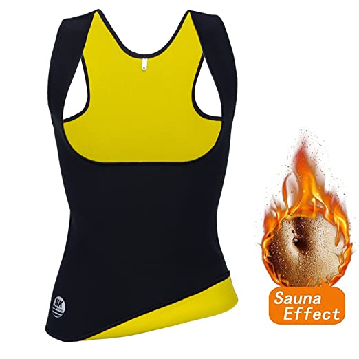 498191821e FLORATA Women Hot Neoprene Body Shaper Slimming Waist Slim Belt Yoga Vest Underbust  Corset