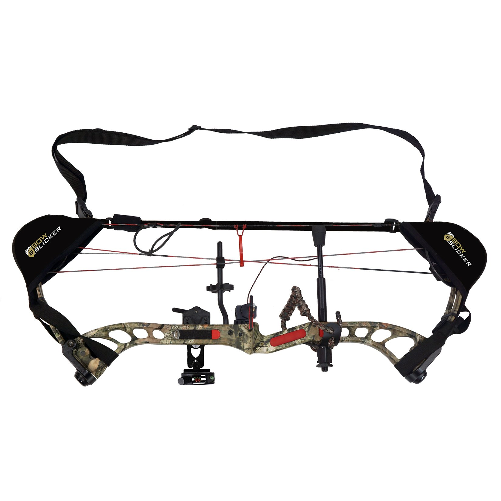 BowSlicker Bow Sling and Cam Guards- Black
