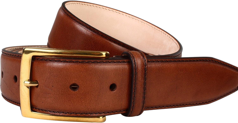 Senza cintura Fibbia Vera Pelle Cintura da Vegetale Conciata pelle bovina