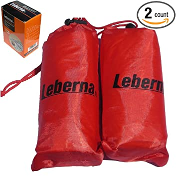 the best attitude 18726 d7b93 Leberna Emergency Survival Foil Mylar Thermal Sleeping Bag 3 FT x 7 FT  36