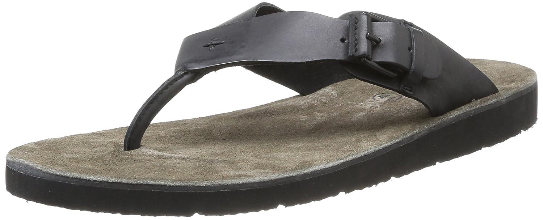 9c02e60cda5 Kickers Bresch - Sandalias de cuero para hombre negro negro 41: Amazon.es:  Zapatos y complementos