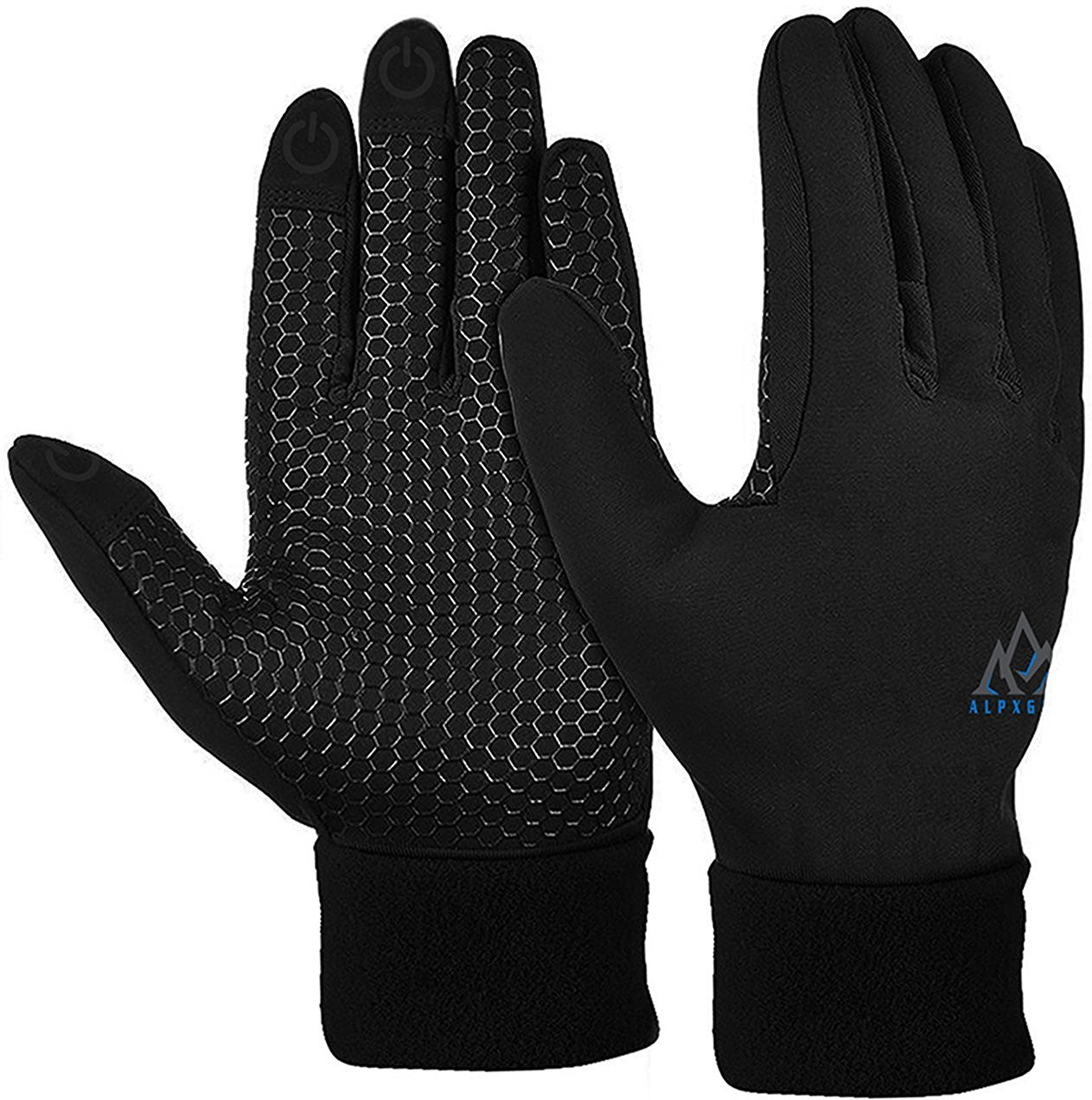 Winter Gloves With Winter Hat By Alpx Gear – Gloves For Women and Men – Winter Gloves Touchscreen SMALL- With Free Winter Hat AlpxGear