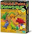 4M - 5603514 - Loisir Créatif - Kit de Moulage - Dinosaures Phosphorescents