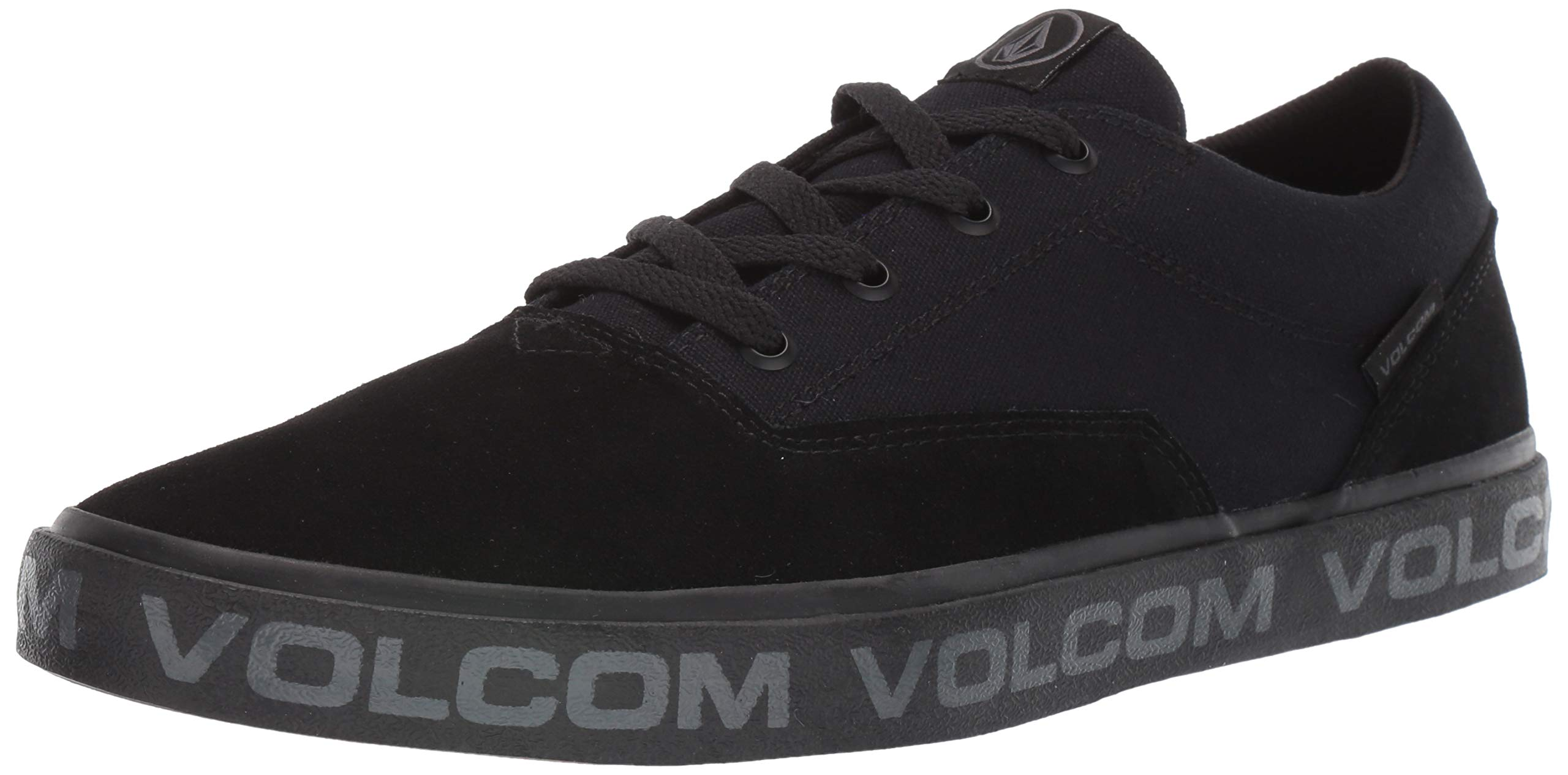 Volcom Men's Draw LO Suede Shoe Skate, BLACKITY Black, 8 D US by Volcom