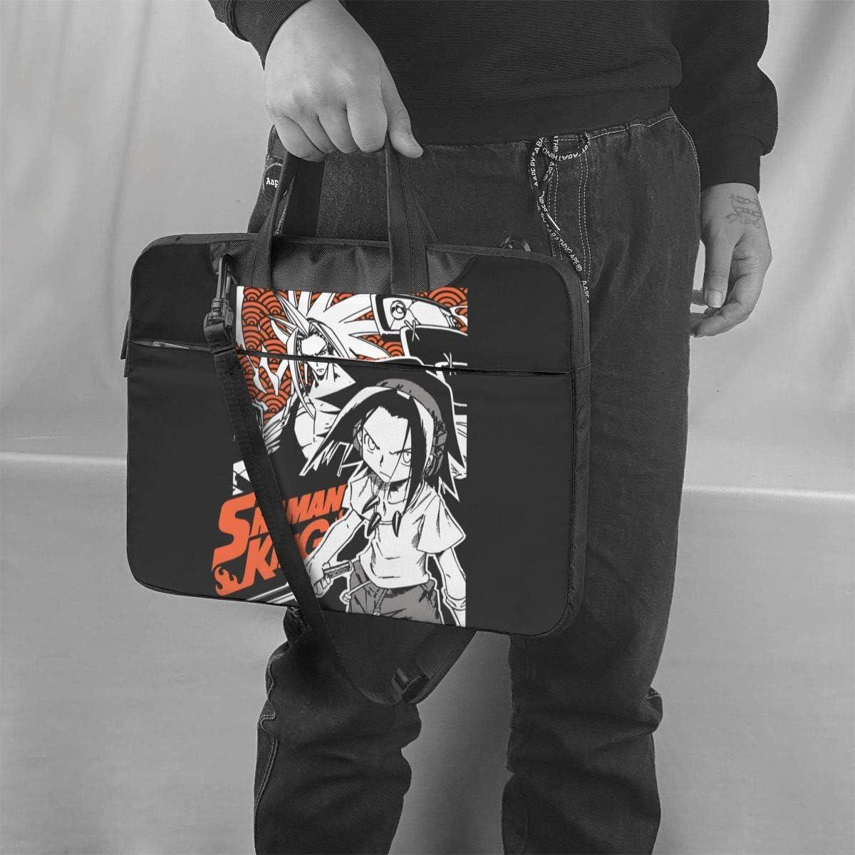 Shaman King Anime Laptop Shoulder Messenger Bag Tablet Computer Storage Backpack Handbag 15.6 inch