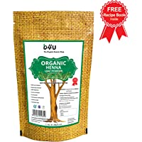 O4U SHOP Natural Organic Henna Powder for Hair and Beard, 100 g