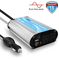 Giandel Pure Sine Wave 300-watt Car Power Inverter