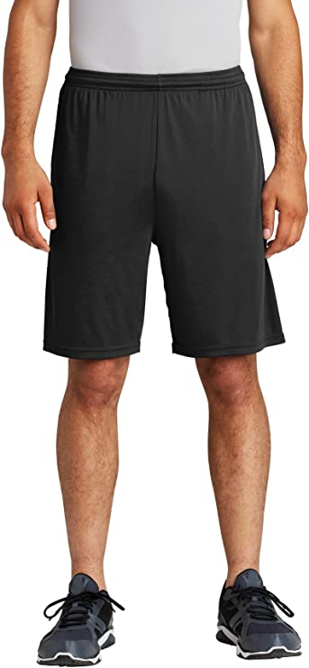 Sport-Tek Youth PosiCharge Competitor Pocketed Short XS Black