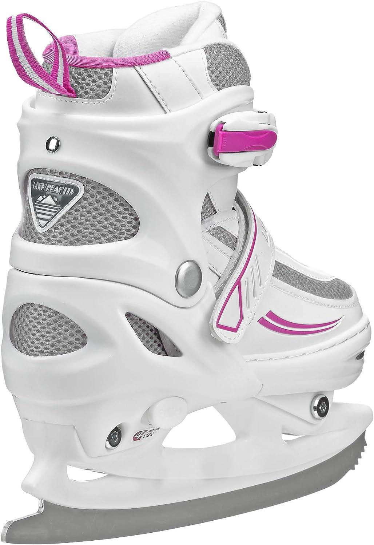Lake Placid Summit Girls Adjustable Ice Skate : Sports & Outdoors