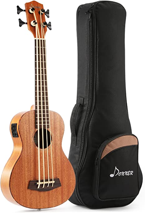 Donner DUB-1 Acoustic Electric Bass Ukulele