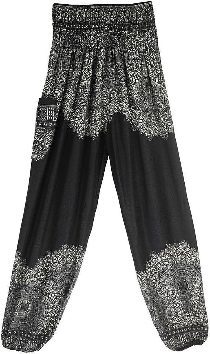 Harem Pants Stripes Low-Cut  Yoga Pants Aladdin Pants Maxi Pants Baggy Pants Gypsy Pants Clothing Jumpsuit Unisex F401089