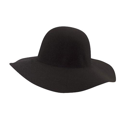 a5396a3f81e SCALA Women s Big Brim Wool Felt Floppy Hat
