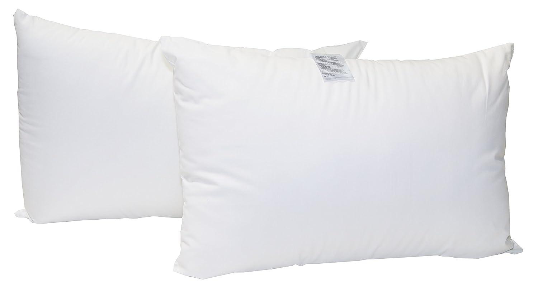 Abeil - 1387 - Oreiller SoClean antitache oreillers Coton Lot de 2 Blanc 45 x 70 cm