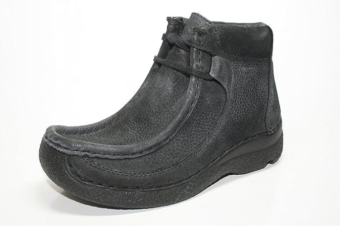 Wolky Baskets en cuir noir achetez à bas prix | limango