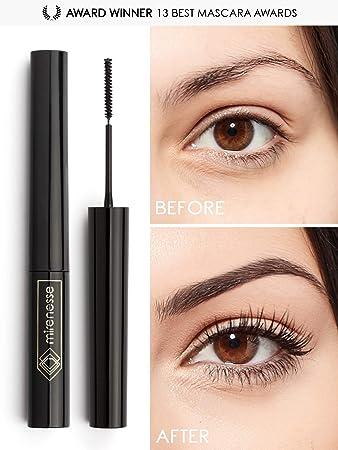 9b12ee65c1d Mirenesse Cosmetics Lash Whip Secret Weapon 24hr Tightline Mascara with Micro  Brush - Black. Unique