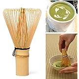 UEETEK Chasen de 115 mm x 63 mm té Matcha bambú bate para preparar Matcha