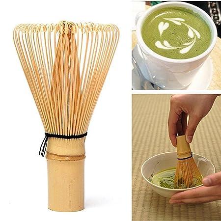 UEETEK Chasen de 115 mm x 63 mm té Matcha bambú bate para preparar Matcha: Amazon.es: Bricolaje y herramientas