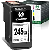 Economink Remanufactured Ink Cartridge Replacement for Canon PG-245 XL 245XL 245 XL PG-243 243( 1 Black ) Used in Pixma MG302