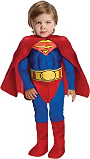 Super DC Heroes Deluxe Muscle Chest Superman Costume Toddler  sc 1 st  Amazon.com & Amazon.com: Rubieu0027s Superman Childu0027s Costume Toddler: Toys u0026 Games