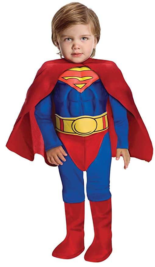 6601e6930eb4 Image Unavailable. Image not available for. Color: Super DC Heroes Deluxe  Muscle Chest Superman Costume, Toddler