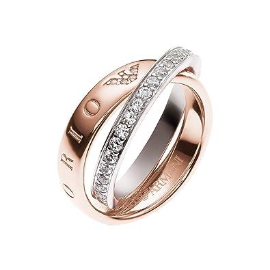 Emporio Armani Women's 925 Sterling Silver Ring gf0Hirsr