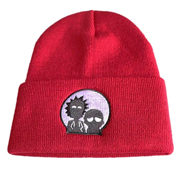Amazon.com: HOMZE and Morty Adventure Hat Cap Hip Hop Beanies Knitted Cartoon Winter Warm Cap Adjustable Cool Embroidery Hat Cosplay Gift Style 9: Home & ...