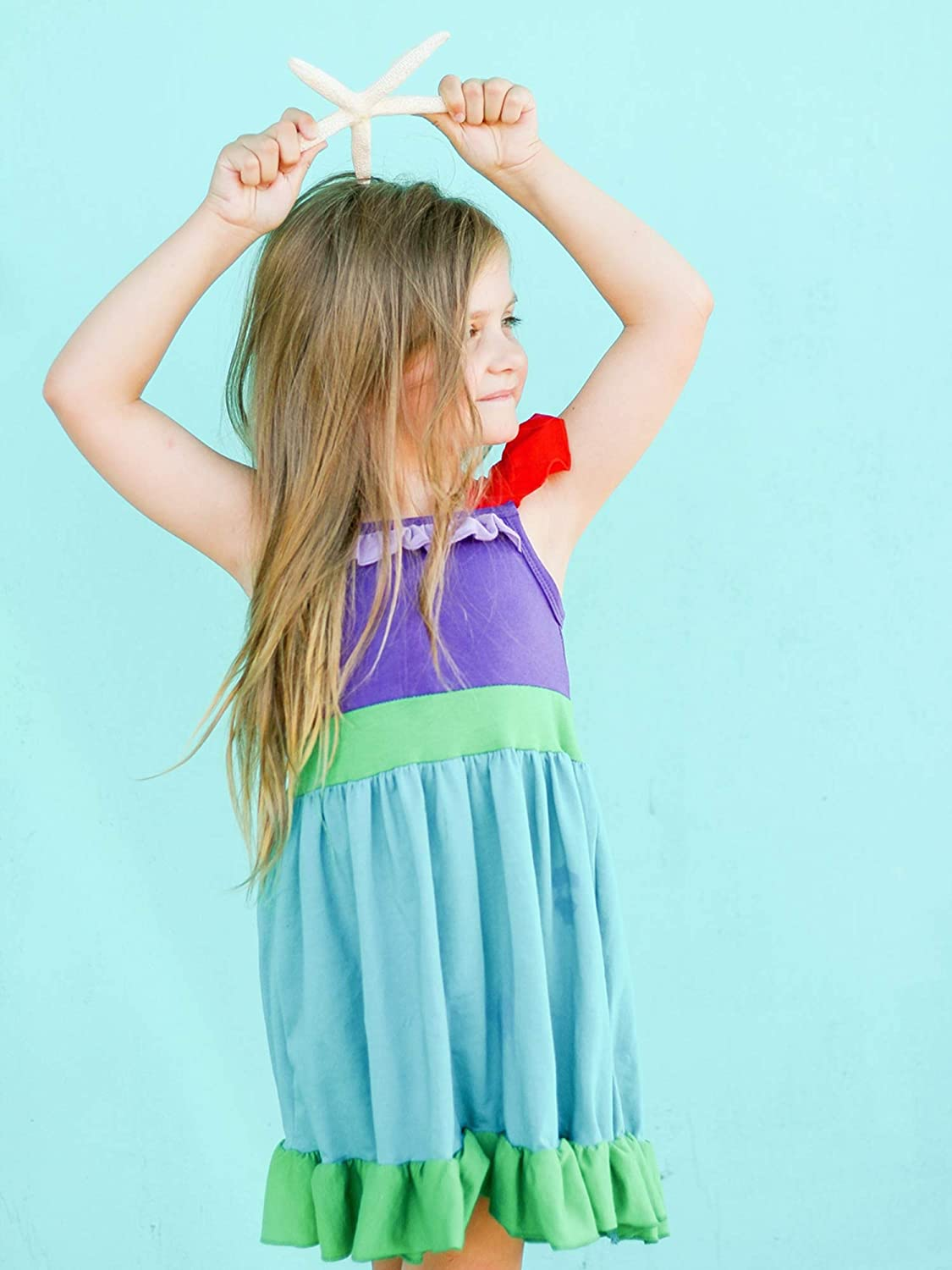 So Sydney Toddler /& Girls 2 Pc Short Sleeve Skort Set