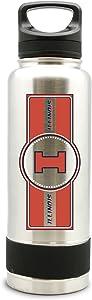 NCAA Illinois Fighting Illini 38oz Double Wall Stainless Steel Large Water Bottle