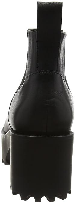 Cheap Monday Latch Stivaletti donna, colore Nero (Black