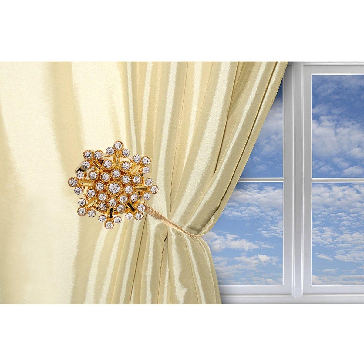 Cierre magnético para abrazaderas de cortinas, gancho, hebilla sujetacortinas, 1 unidad: Amazon.es: Hogar