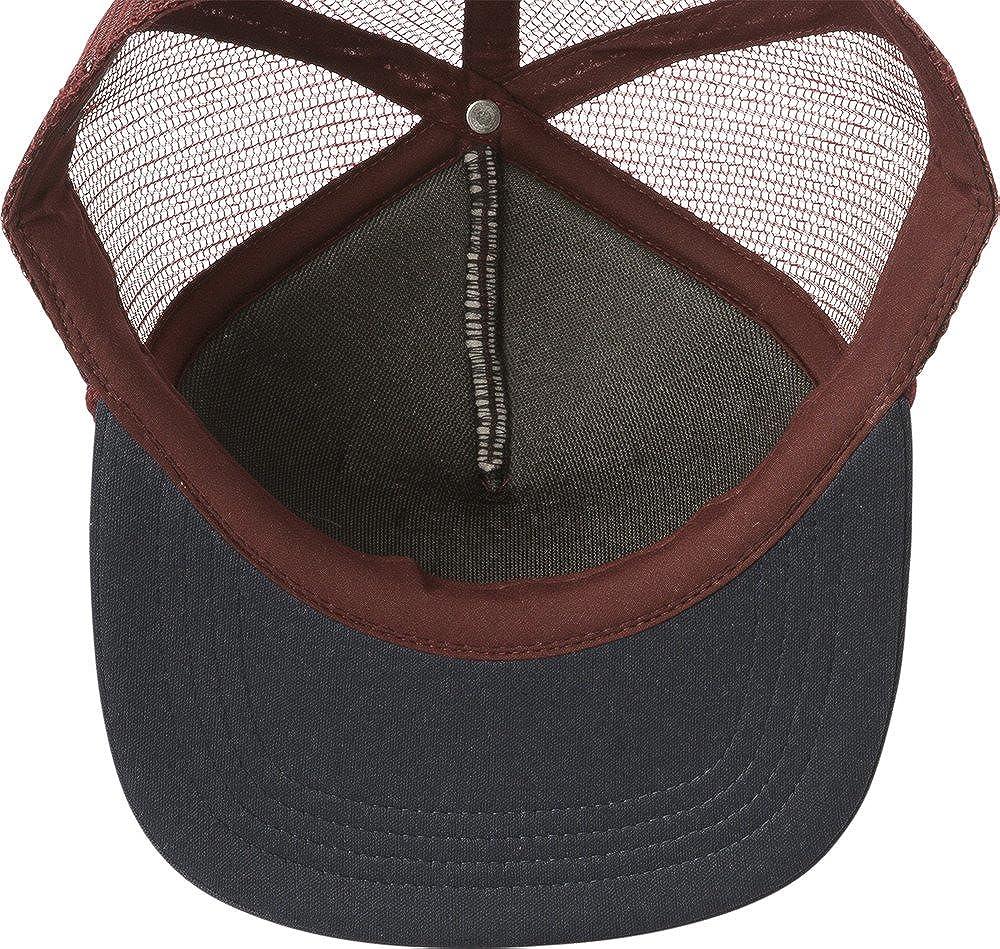 403189c7 Amazon.com: RVCA Foamy Trucker Snapback Hat Burgundy Navy Blue: Clothing