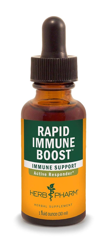 Herb Pharm Rapid Immune Boost Liquid Herbal Formula for Active Immune Support - 1 Ounce