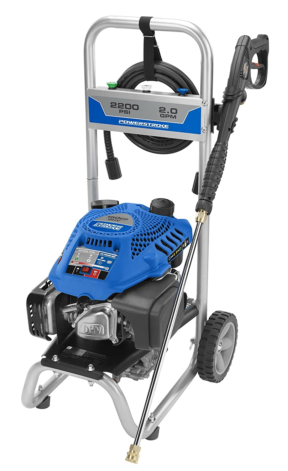 amazon com powerstroke ps80519b 2200 psi gas pressure washer